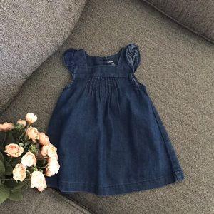 BabyGap denim dress 12-18 months